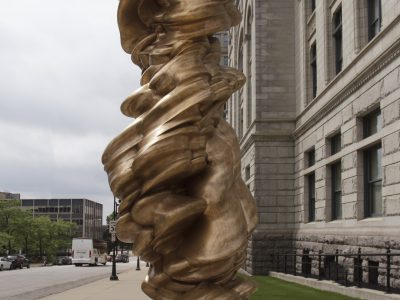 Sculpture Milwaukee work earns place outside City Hall