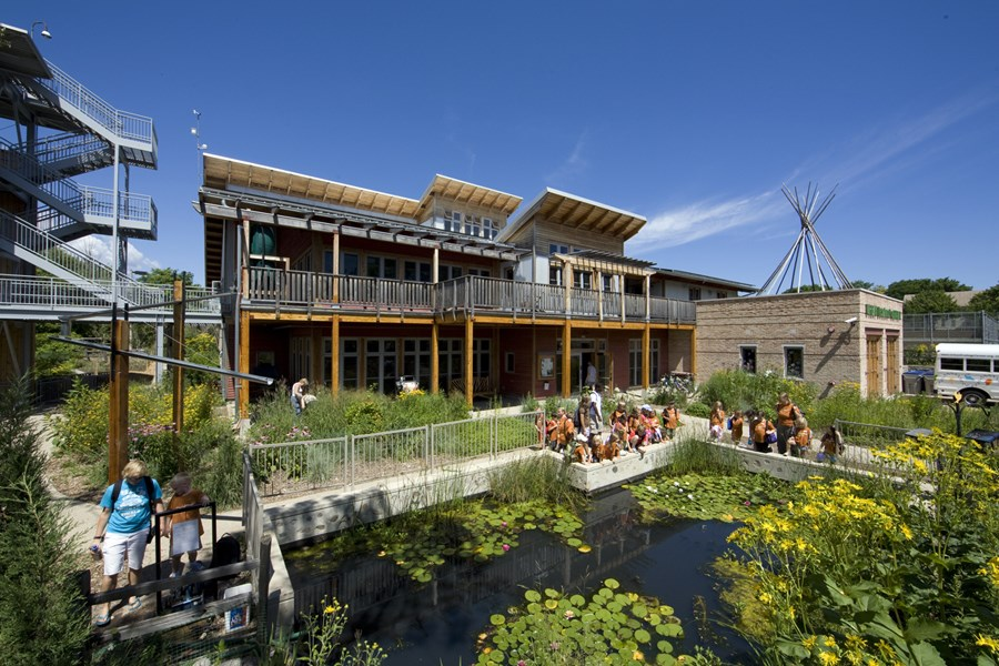 Urban Ecology Center. ©The Kubala Washatko Architects, Inc.