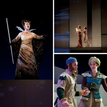 Photos from the 2009 Florentine production of The Magic Flute