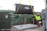 Briggs & Stratton 60kW commercial standby generator. Photo courtesy of Milwaukee World Festival, Inc.