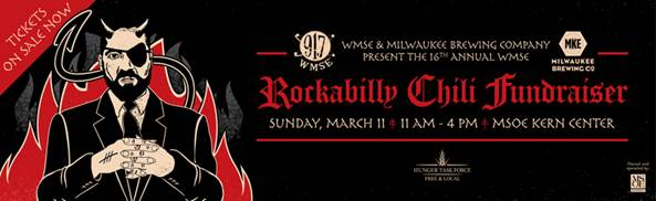 16th Annual WMSE Rockabilly Chili Fundraiser