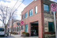 Pedal Milwaukee Building, 3618 W. Pierce St. Photo courtesy of Fyxation Bicycle Co.