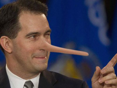 Murphy's Law: Scott Walker's Big Lie