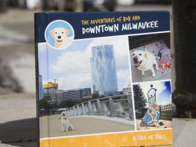 "Follow Bob the dog's ""tail"" of downtown exploration for a good cause"