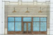 Drawing of 1104 W. Historic Mitchell St. after renovation. Design by Design Haus.