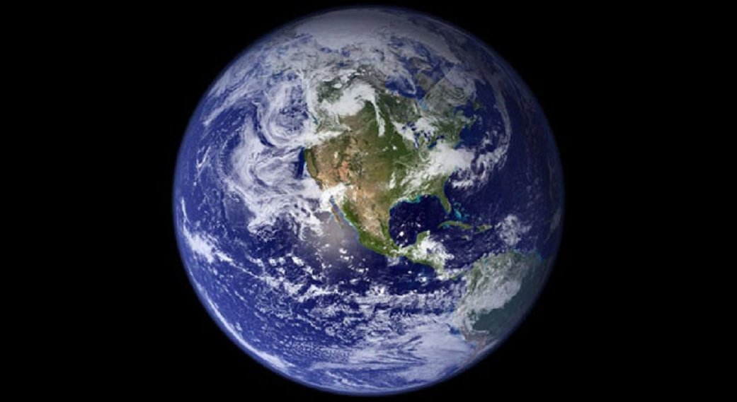 Earth. Photo from NASA.