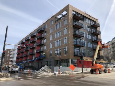 Friday Photos: The North End is Nearly Finished