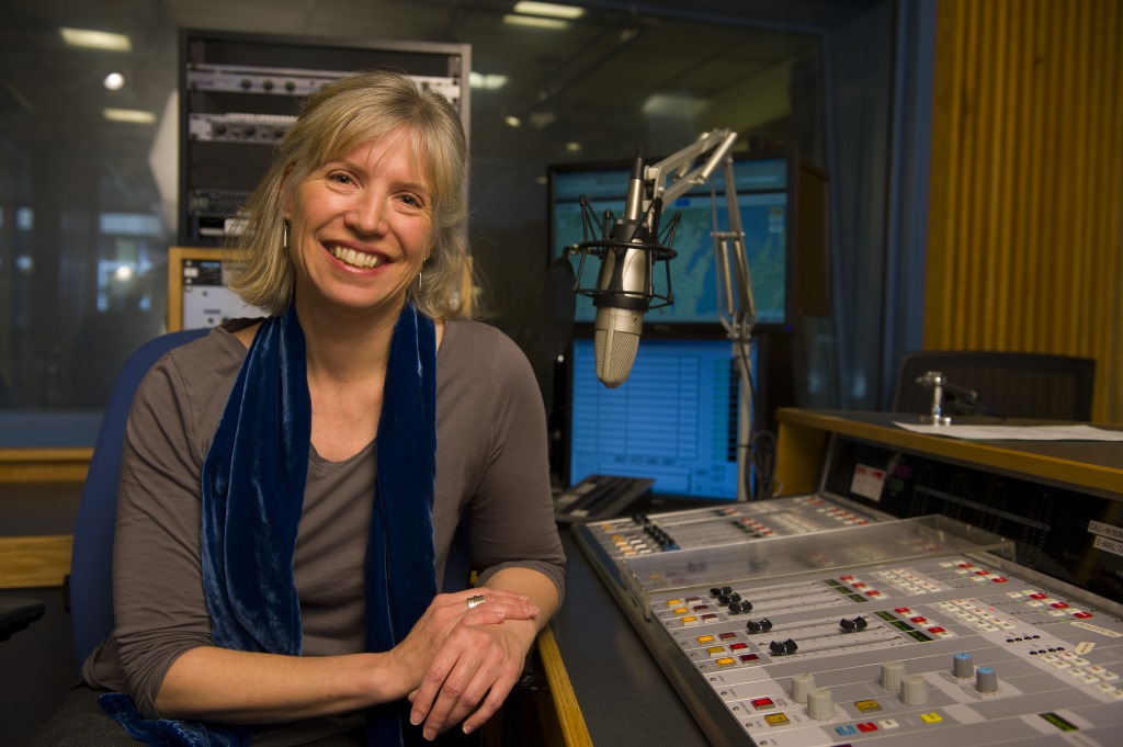 Anne Strainchamps. Photo by WPR/J. Gill.