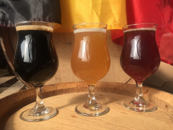 Belgian Trilogy. Photo courtesy of St. Francis Brewery.