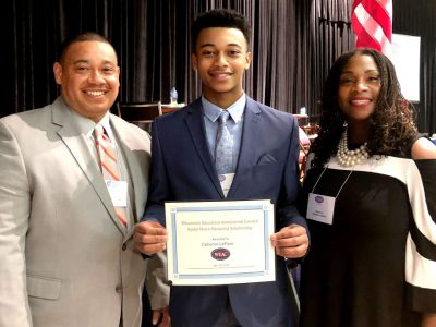 Cameron LeFlore receives state award to study education