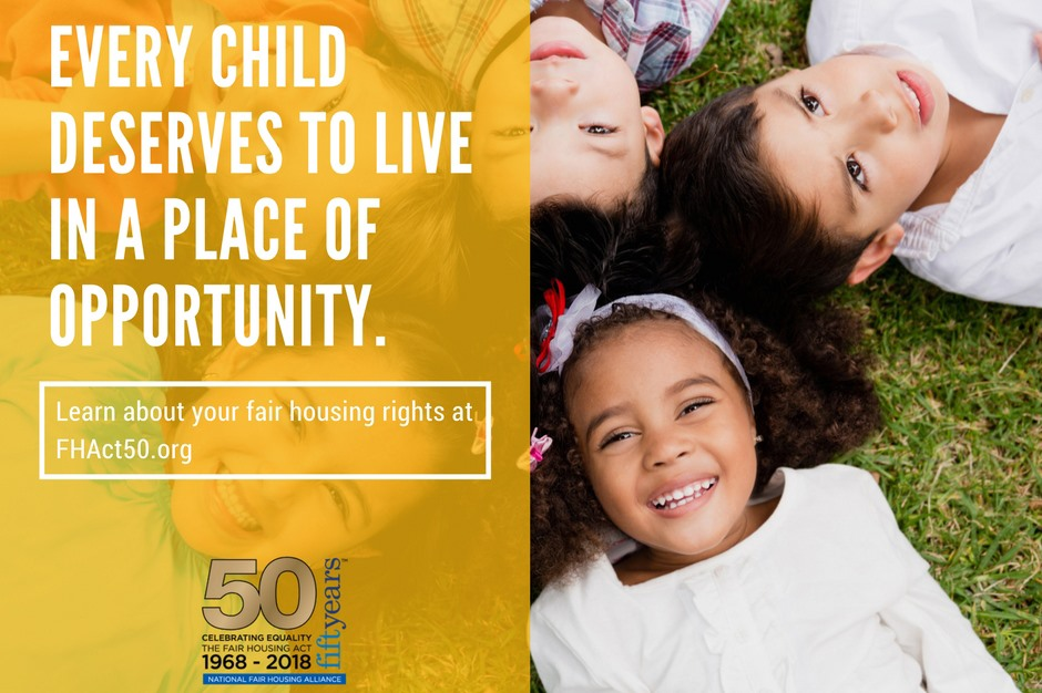 Every child deserves to live in a place of opportunity.