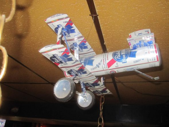 Pabst model biplane. Photo by Michael Horne.