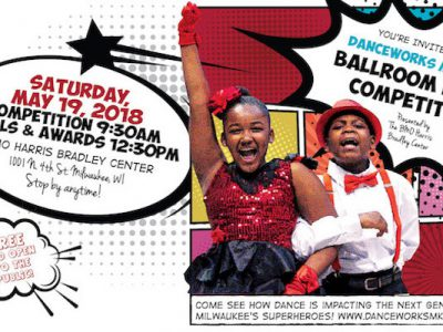 Danceworks Mad Hot Ballroom Dance Competition at BMO Harris Bradley Center on Saturday, May 19th marks the last in a cherished partnership