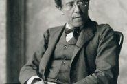Gustav Mahler. Photo by Moritz Nähr.