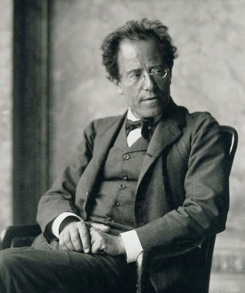 Gustav Mahler. Photo by Moritz Nähr.