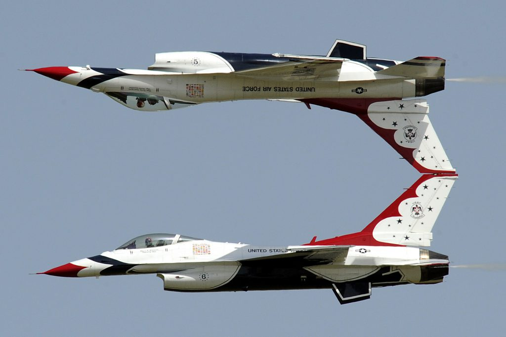 U.S. Air Force Thunderbirds. Photo by U.S. Air Force /Staff Sgt Richard Rose, Jr.