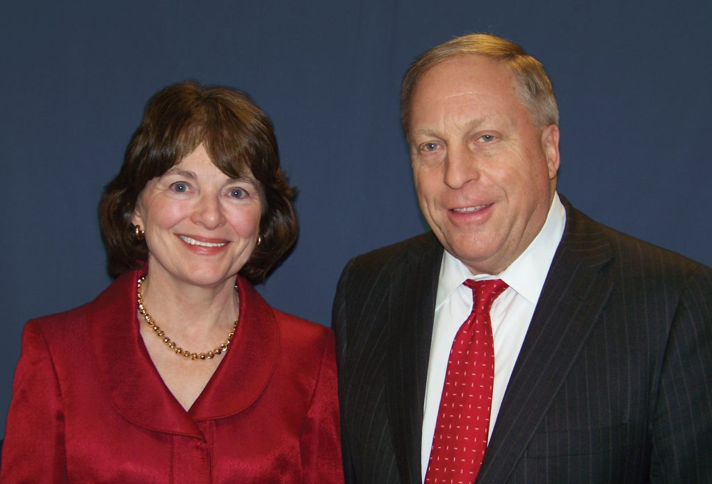 Kelly and Jim McShane. Photo courtesy of Marquette University.