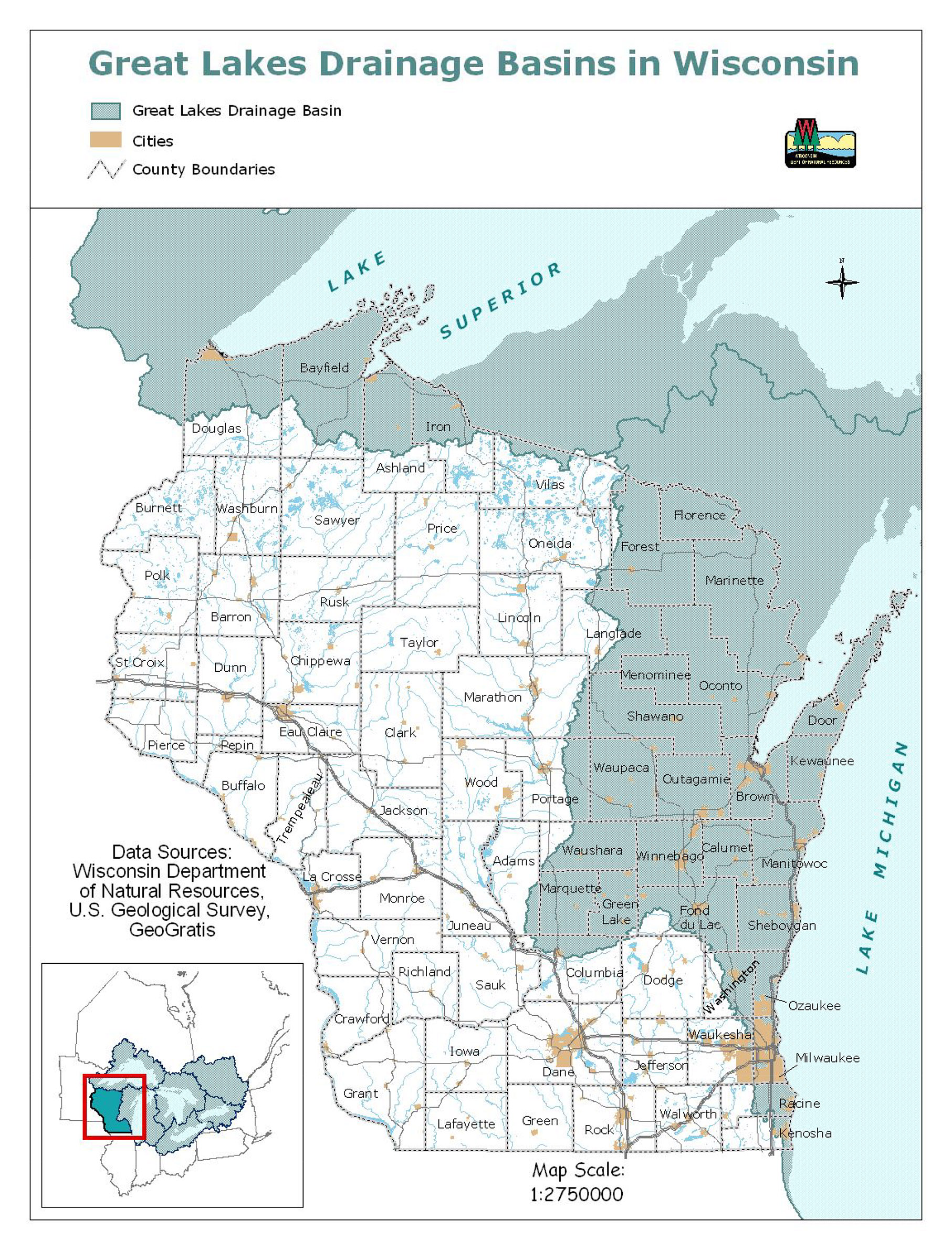 Racine Wisconsin Map.Where The Great Lakes Compact Ends And Wisconsin Law Begins Urban
