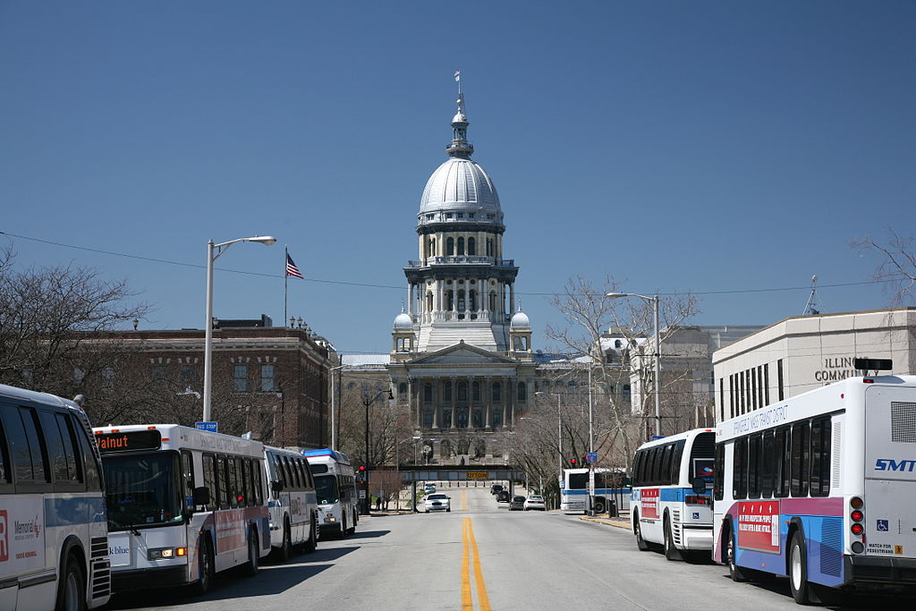 Illinois State Capitol. Photo by Daniel Schwen (CC BY-SA 4.0)