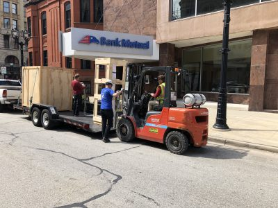 Eyes on Milwaukee: Sculpture Milwaukee Installation Begins