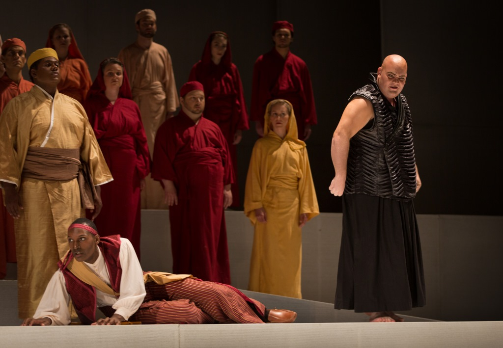 Florentine Opera Company: Magic Flute. Photo by Kathy Wittman, Ball Square Films.