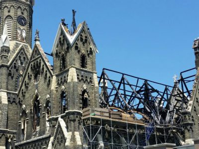 Trinity Church Fire Damage $17 Million