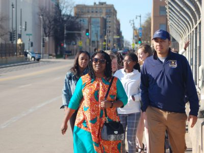 Students Retrace Civil Rights Era