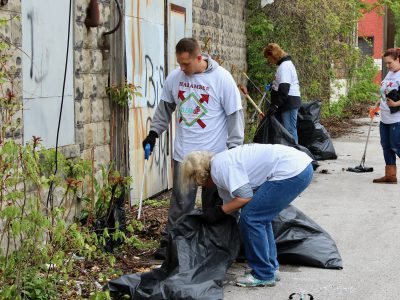 Massive Harambee Neighborhood Cleanup