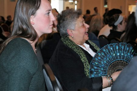 Community members listen to speakers at the Common Ground 10th Anniversary Assembly. Photo by Robyn Di Giacinto.