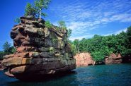 Apostle Islands. Photo from the Wisconsin Department of Natural Resources (CC-BY-ND).