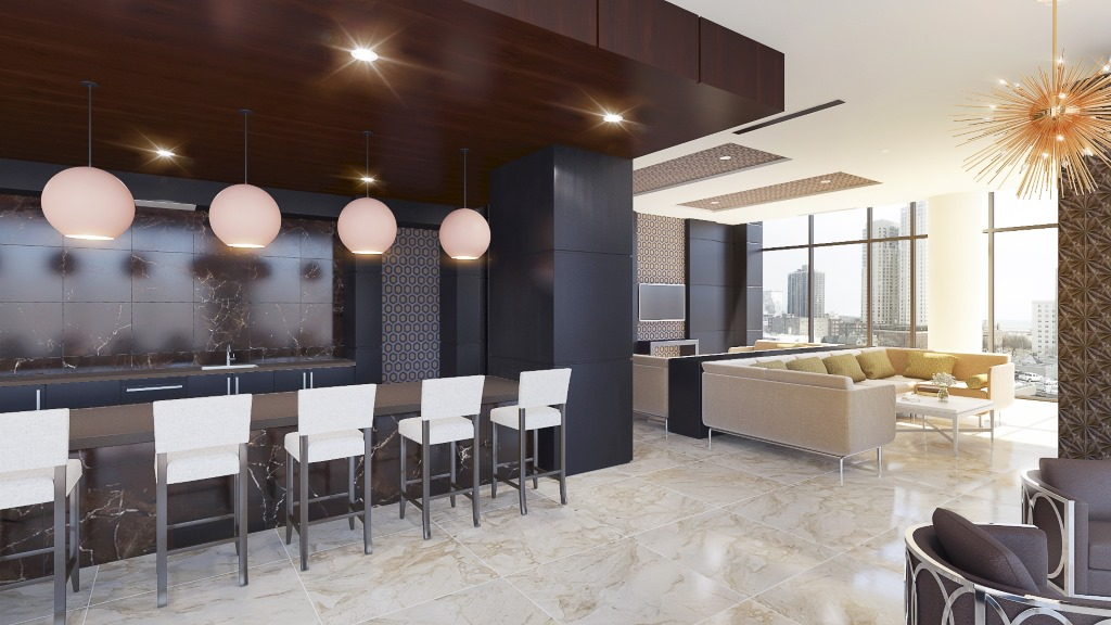 9th floor interior