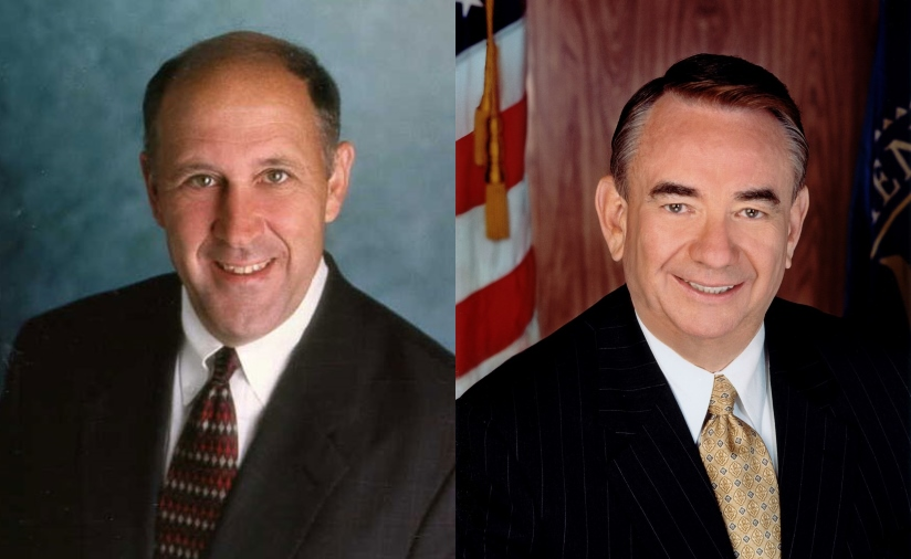 Jim Doyle and Tommy Thompson