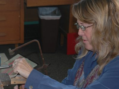 Catherine Laing: June Artist in Residence at Cedarburg Cultural Center