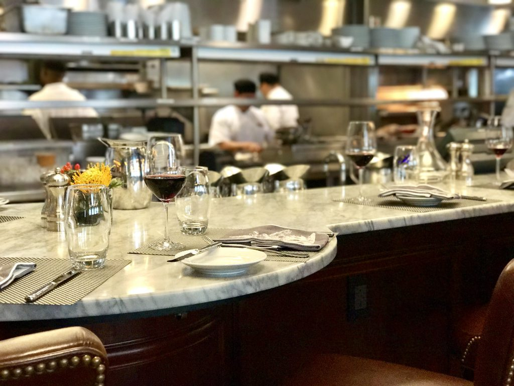 Chef Counter at Mason Street Grill. Photo courtesy of Marcus Restaurant Group.