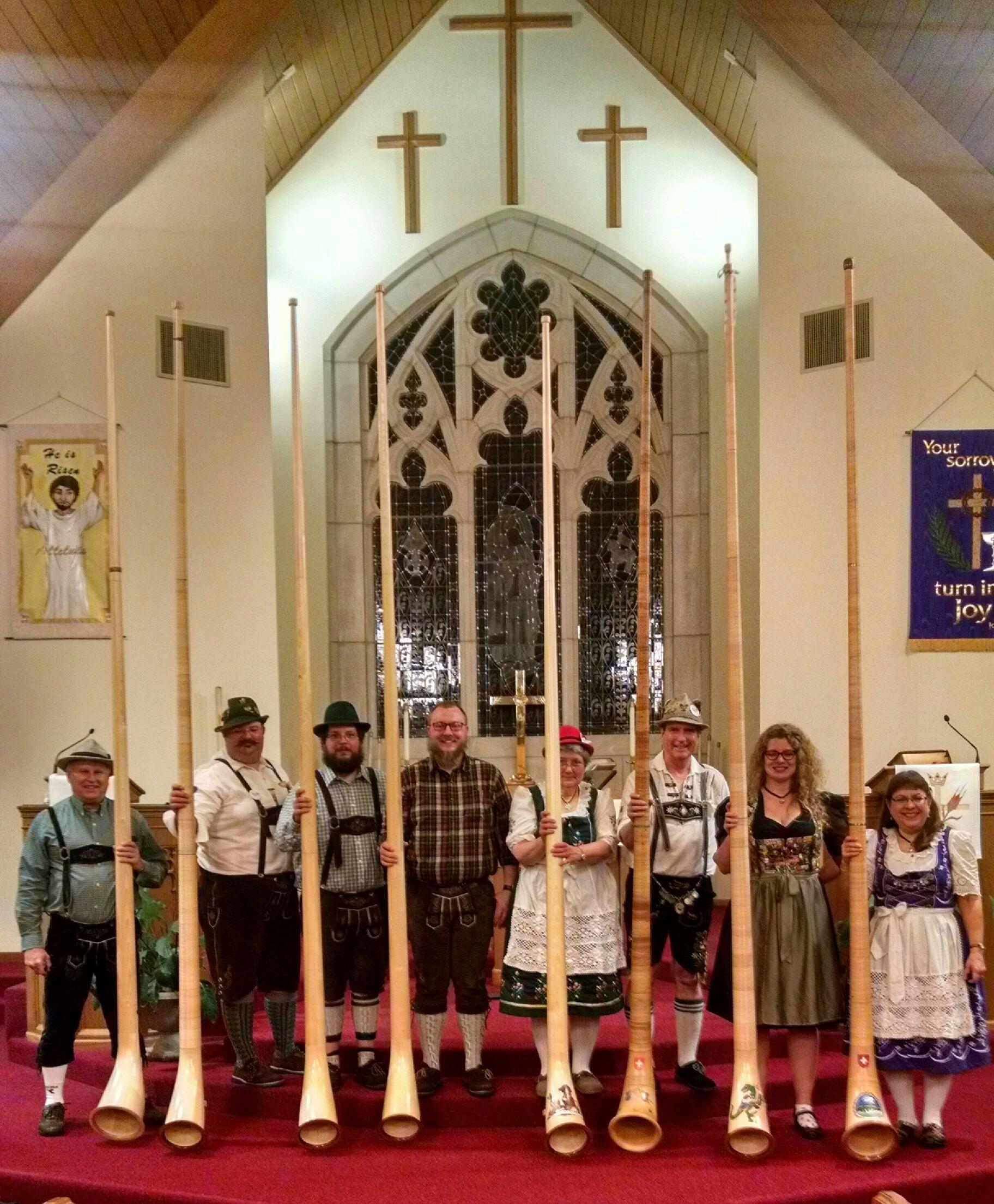 Alpine Echoes to Perform at Waelderhaus on June