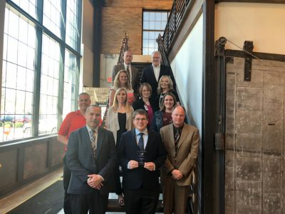 "Rep. Mark Spreitzer Receives WEDA's ""Champion of Economic Development"" Award"