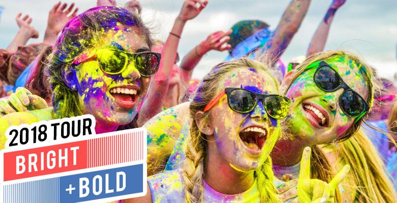 Color Vibe's Bright & Bold Tour