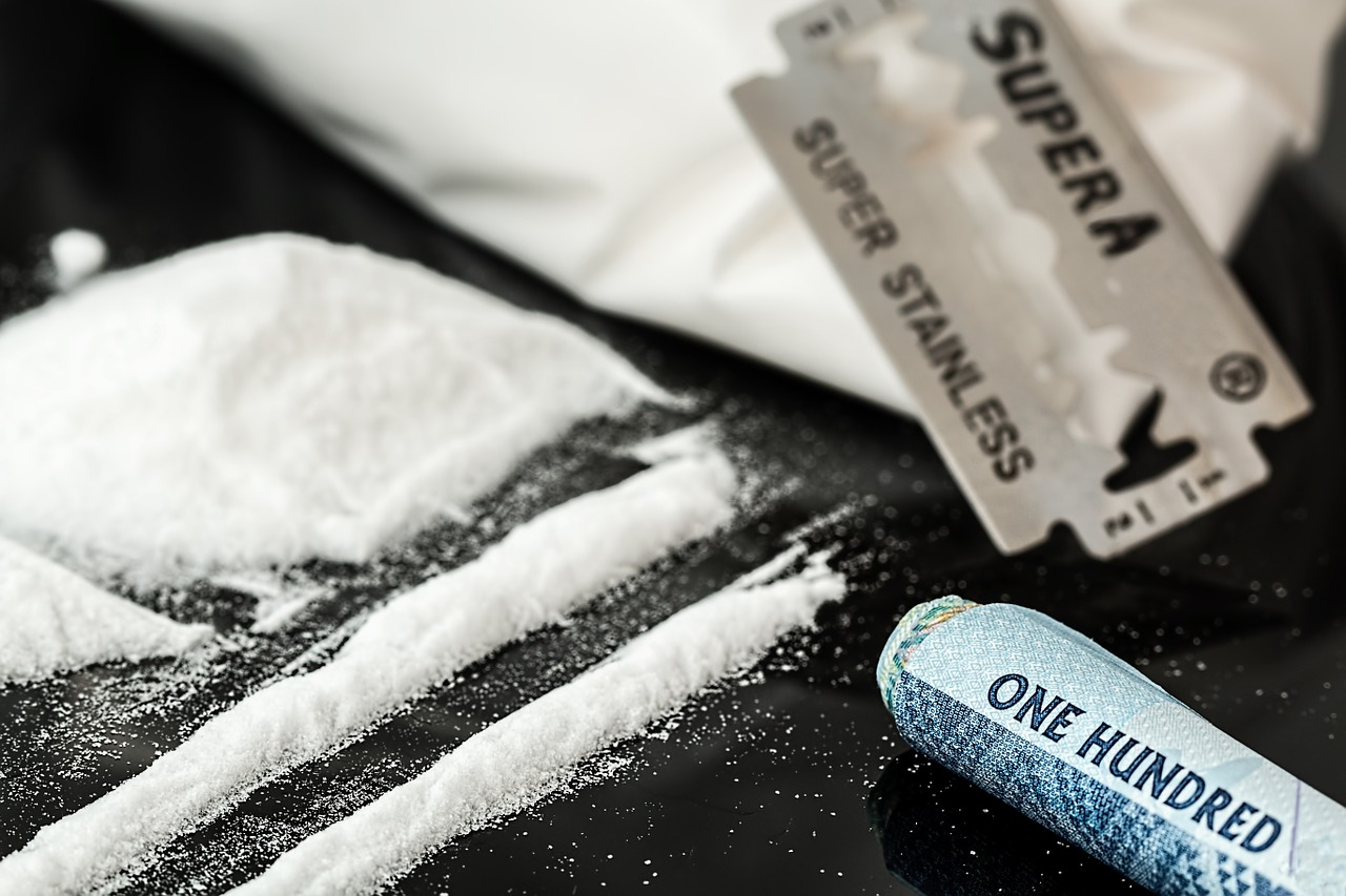 Cocaine. Photo is in the Public Domain.