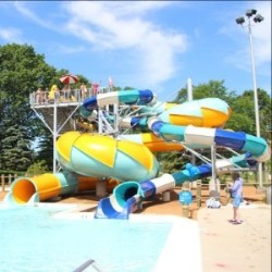 Cool Waters (pictured) and the David F. Schulz Aquatic Center will open for the Memorial Day Weekend, and weekends-only through June 10. Photo from Milwaukee County Parks.