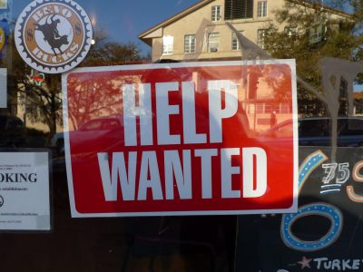 Op Ed: Even Higher Wages Won't Fill Open Jobs