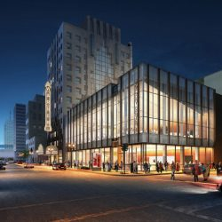 Milwaukee Symphony Orchestra plans for Warner Grand Theatre. Rendering by Kahler Slater.