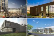 New Arts & Culture Buildings in Milwaukee. Renderings by Kahler Slater, HGA, Eppstein Uhen Architects