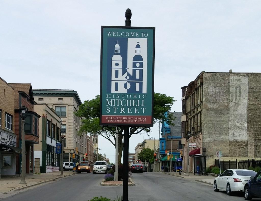 Historic Mitchell Street. Photo by Carl Baehr.