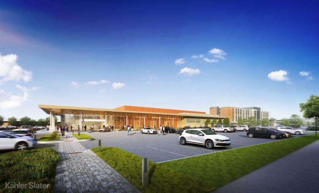 Brookfield Conference Center. Rendering by Kahler Slater.