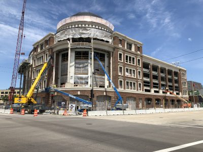Friday Photos: Copper Dome Emerges Downtown