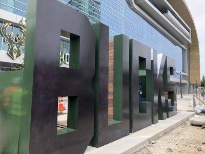 Eyes on Milwaukee: Bucks Unveil Monumental Sign