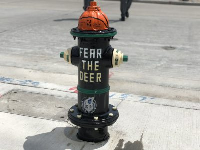 Eyes on Milwaukee: Bucks Unveil Custom Fire Hydrants