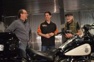 Gov. Scott Walker visiting the Harley-Davidson Museum. Photo from the State of Wisconsin.