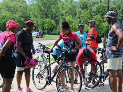 Young Black Women Embrace Biking