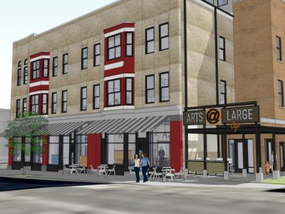 Arts @ Large Begins Renovation of Historic Building